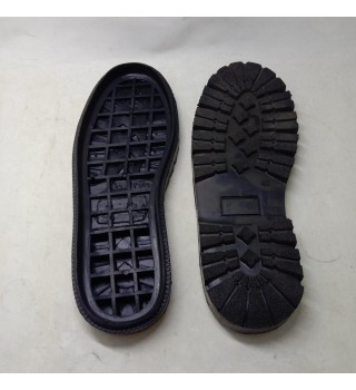 Outsole Sepatu Karet P969 hitam size 39 sd 45