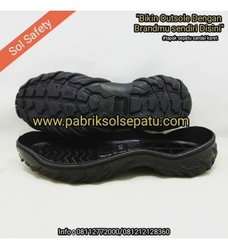 Outsole karet commando
