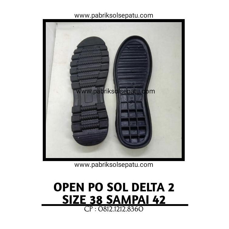 Outsole Delta PER hitam 39 - 43