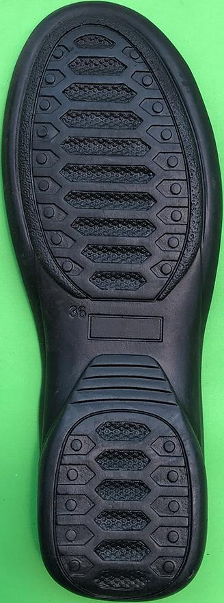 sol alas sepatu sandal karet 23