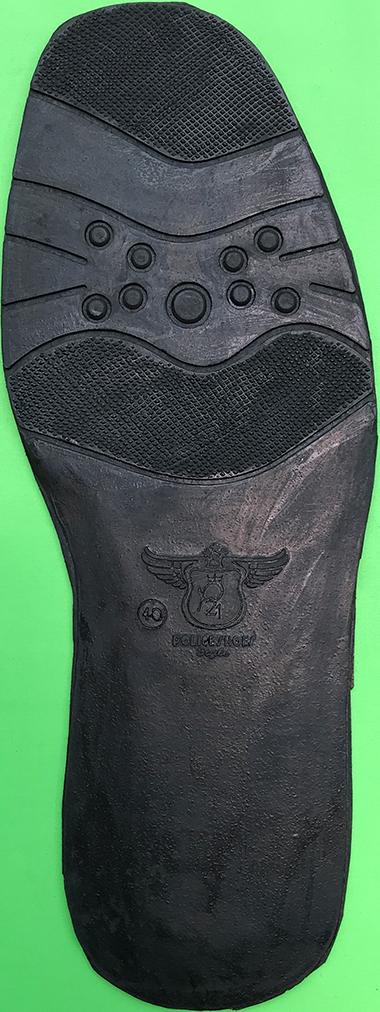 sol alas sepatu sandal karet 44