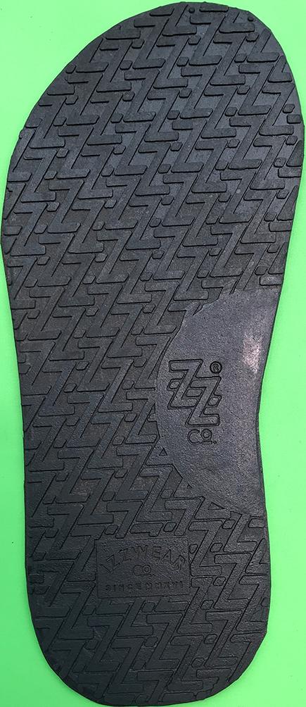 sol alas sepatu sandal karet 49