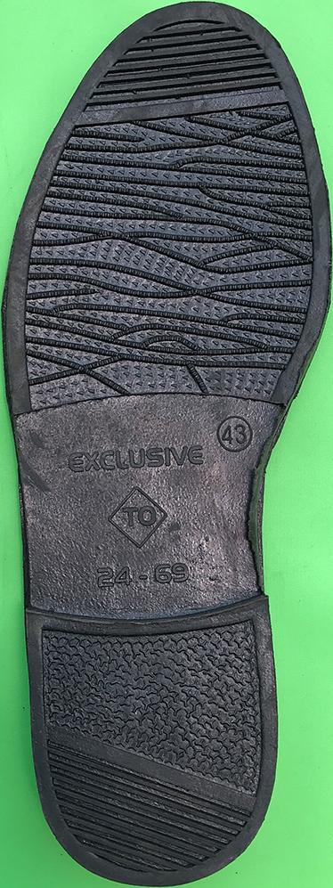 sol sepatu sandal karet 9
